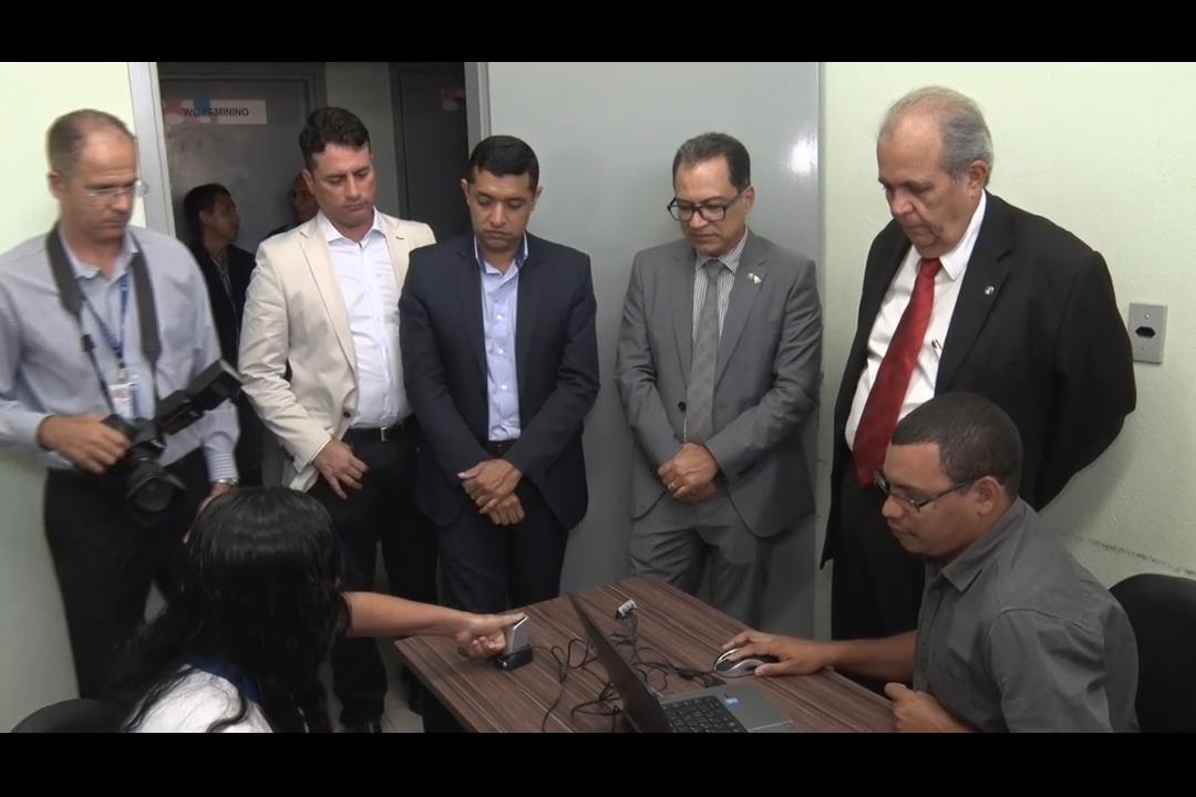 TJ começa cadastramento biométrico no presídio Santa Luzia
